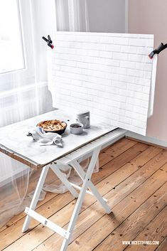Food Fotografie Tipps Teil Hintergrund und Untergrund - Nicest Things Food photography background tips: make a DIY photo background yourself from wood or concrete, buy beautiful surfaces, set const