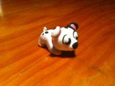 Little dog fimo