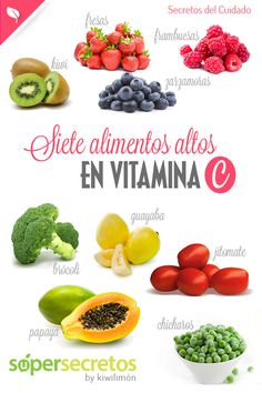 7 alimentos altos en vitamina C