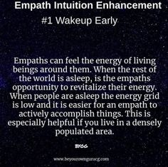 Medium and After Life Researcher relaying messages from source and empowering others to enhance their intuitive skills. Empath Traits, Intuitive Empath, Empath Abilities, Psychic Abilities, Awakening Quotes, Spiritual Awakening, Empathy Quotes, Mental Health Journal, Boss Quotes