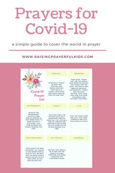 a simple guide for families to pray together during this pandemic. Easy prayers to memorize with kids. Links to FREE activities to do while social distancing. Christian Prayers, Christian Kids, Bible Art, Bible Scriptures, Prayer Quotes, Bible Quotes, Favorite Bible Verses, Favorite Quotes, Bible Concordance