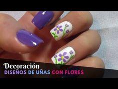 Diseño de uñas elegante - facil y rapido - YouTube