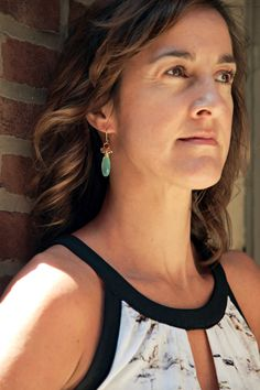 These Chalcedony and Labradorite Earrings seem to glow... one of our favorites! www.sarahcornwelljewelry.com Labradorite Jewelry, Hand Made Jewelry, Gemstone Jewelry, Mint, Mint Earrings, Mint Jewelry