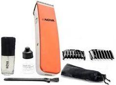 Nova Crystal Design Cordless Nht 1045 O Trimmer For Men At Rs.259