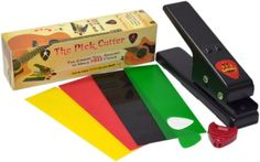 The Pick Cutter A Guitar Pick Maker - Guitar Puncher Tool That Makes Custom Picks - This DIY Pick Hole Puncher Helps You Cut Picks Like A Guitar Pro - Use Any Plastic to Make As Many Quality Unique Picks As You Like - This Guitar Pick Tool Gives 100% Fun Every Time - Cut Guitar Plectrum Picks Fast With Smooth Edges - Best Guitar Gift 100% Awesome and Never Pay for Picks Again Muzjig