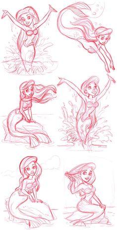 The Little Mermaid on Disney-Pixar - DeviantArt Disney Pixar, Disney Merch, Arte Disney, Disney And Dreamworks, Disney Magic, Tinkerbell Disney, Disney Villains, Disney Concept Art, Disney Fan Art