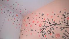 stencil albero - cameretta