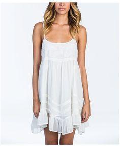 Billabong Sweet All Over Dress - White Cap - JD193SWE | Billabong US