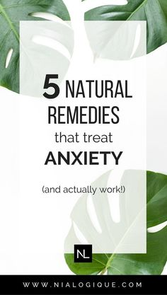 5 Natural Remedies That Treat Stress, Anxiety, and Insomnia | Learn about the 5 different herbal alternatives you can use to relieve symptoms of fear, tension, pressure, and strains.