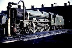 stanier jubilee - 45561 Saskatchewan Diesel Locomotive, Steam Locomotive, Steam Trains Uk, Milwaukee Road, Electric, Steam Railway, Abandoned Train, Train Times, British Rail