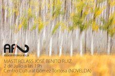 Vive, que no es poco.: MASTERCLASS de Jose Benito Ruiz en Novelda  (Alica...