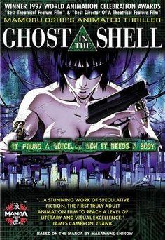 Ghost In The Shell. Un des chefs-d'oeuvre de l'Anime. Mention Spéciale à Gérardmer 1997.