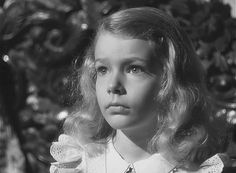 Child actress - Ann Carter - Curse Of The Cat People