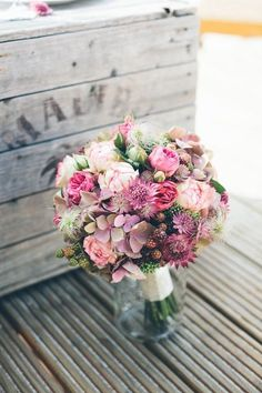 Romantic bridal bouquet, wedding flowers, autumnal blooms of Christ . - Romantic bridal bouquet, wedding flowers, autumn blossoms from Christ … – Romantic bridal bouque - Bouquet Bride, Flower Bouquet Wedding, Floral Wedding, Bouquet Flowers, Orange Wedding, Bridal Flowers, Fall Flowers, Beautiful Flowers, Beautiful Textures