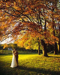 Beautiful fall wedding ideas.