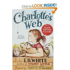 Charlotte's Web by E. B. White w/Garth Williams, recommended by Sage Writing Specialist & Tutor Lindsey