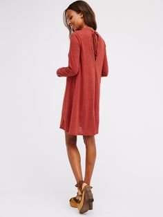 First Date Dress | Long sleeve dress with a soft and comfy fabrication and an…