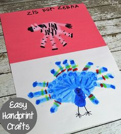Whether you're looking for a way to entertain the kids on a hot summer afternoon, or searching for educational crafts, these handprint animal crafts are...