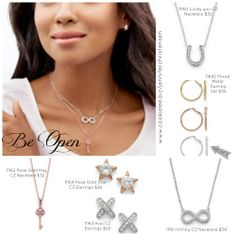 Be Open: Celebrate the sun with airy accessories that won't weigh you down. Delicate open-ended bracelets, slender chain necklaces and light-as-air hoops keep you stylish and cool.