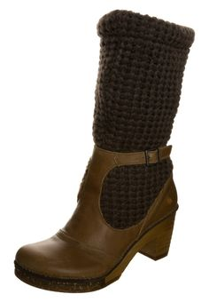 Art AMSTERDAM Platform boots caramel