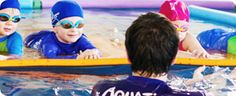 Great infant swim instruction to do on your own. Videos and lesson plans for parents. Covers 4 months to 3 years and up. Infants learn to float, roll over, and take a breath before submerging. I've been looking for this! Come on summer!