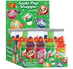 Jelly Belly Soda Pop Shoppe Jelly Beans Bottles: 24-Piece Caddy