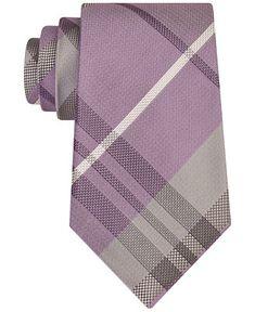 Kenneth Cole Reaction Men's Seagull Plaid Tie - Ties & Pocket Squares - Men - Macy's