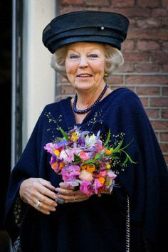 Princess Beatrix, June 5, 2014   Royal Hats-Princess Beatrice attended the opening of an exhibition of silver given to the Dutch Royal Family, Silvermuseum, Schoonhoven