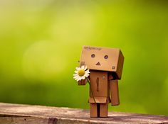 My favorite character ~ Danbo, I want one so bad!! So I can take him on mini photo shoots!!! Cute Danbo-The-Japanese-Robot-Pictures