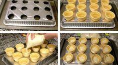 Receita de bolos em casquinha de sorvete - Bolsa de Mulher