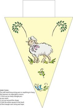 Sheep Banner - Party Decorations