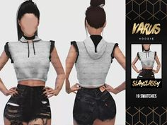SlayClassy - Varus Hoodie - The Sims 4 Download - SimsDom