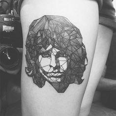 http://tattoomagz.com/tattoos-by-diana-katsko/geometric-jim-morrison-tattoo-by-diana-katsko/