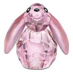 Swarovski  Lovlots City Park Collection Bella Rabbit.  Swarovski Crystal Figurine