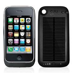 iPhone solar powered case