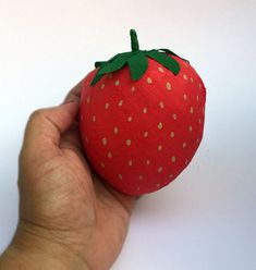 Strawberry Surprise Ball by WatermelonParty on Etsy