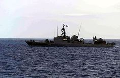 Los barcos de guerra de clase Thetis , era una clase de cinco buques de guerra de la Armada griega , desarrollado originalmente para la marina alemana como Clase 420 y la primera puesta en servicio en 1961.