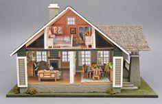 Good Sam Showcase of Miniatures: At the Show - Quarter-Scale Dollhouse Toys, Dollhouse Furniture, Dollhouse Miniatures, Dollhouse Ideas, Avalon House, Miniature Houses, Mini Houses, Shoji Screen, Mini Doll House