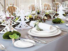 #Mesas #navideñas #Navidad #comedor #mesa #vajilla #cristalería
