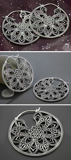 White brass Undulate design, Maya Jewelry | BAF