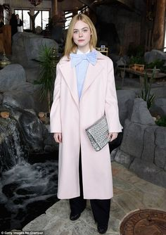 Pretty in pale pink: The star at the d By Women Hosted By Glamour's Cindi Leive And Girlga...