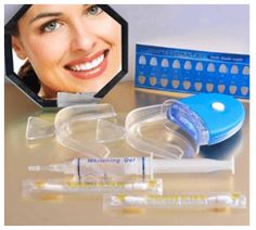 Find best price for Peroxide Teeth Whitening Tooth Bleaching Whitener Kit Oral Gel System Teeth Whitening That Works, Whitening Skin Care, Teeth Whitening Remedies, Natural Teeth Whitening, Teeth Bleaching, Dental Hygiene, Dental Care, White Smile, White Teeth