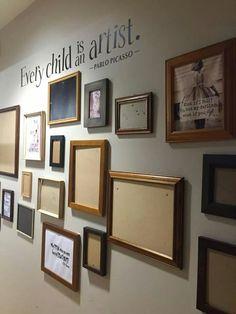 Children's Art Wall
