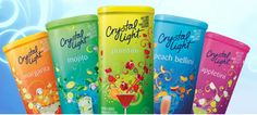 Free Sample of Crystal Light and Coupons