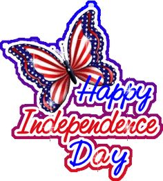 USA Independence Day Clipart Animation