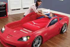 Step2 Corvette® Toddler to Twin Bed with Lights #FanFriday 5/29