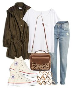 """""""Sin título #384"""" by hellomissapple ❤ liked on Polyvore featuring mode, H&M, Sonia by Sonia Rykiel, Converse, Madewell, ASOS, women's clothing, women, female et woman"""