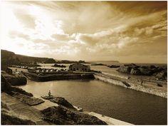 Ballintoy harbour Northern Ireland. Game of Thrones location