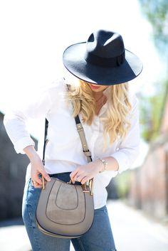 Style Basics: The Denim Jean & Cotton Shirt Autumn Style, mediamarmalade, Blogger Style, Outfit inspiration