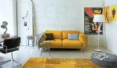Yellow interior styling from vt wonen